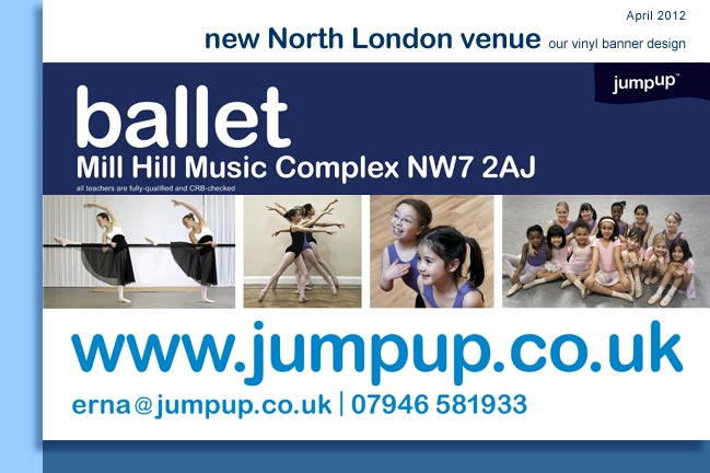 new jumpup studio in Mill Hill