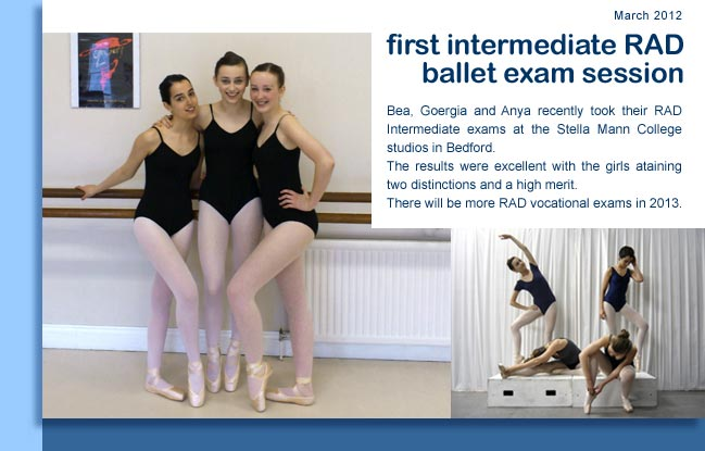 Intermediate RAD exam success